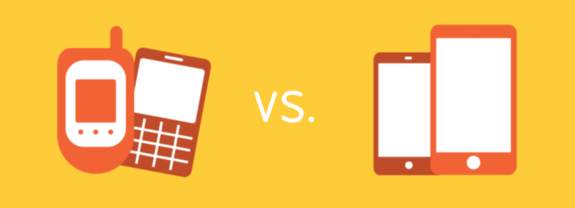 feature phone vs smartphone