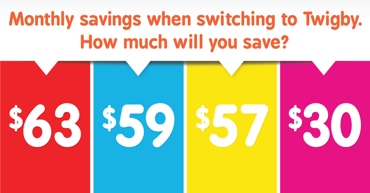 Save up to $63 or more with Twigby